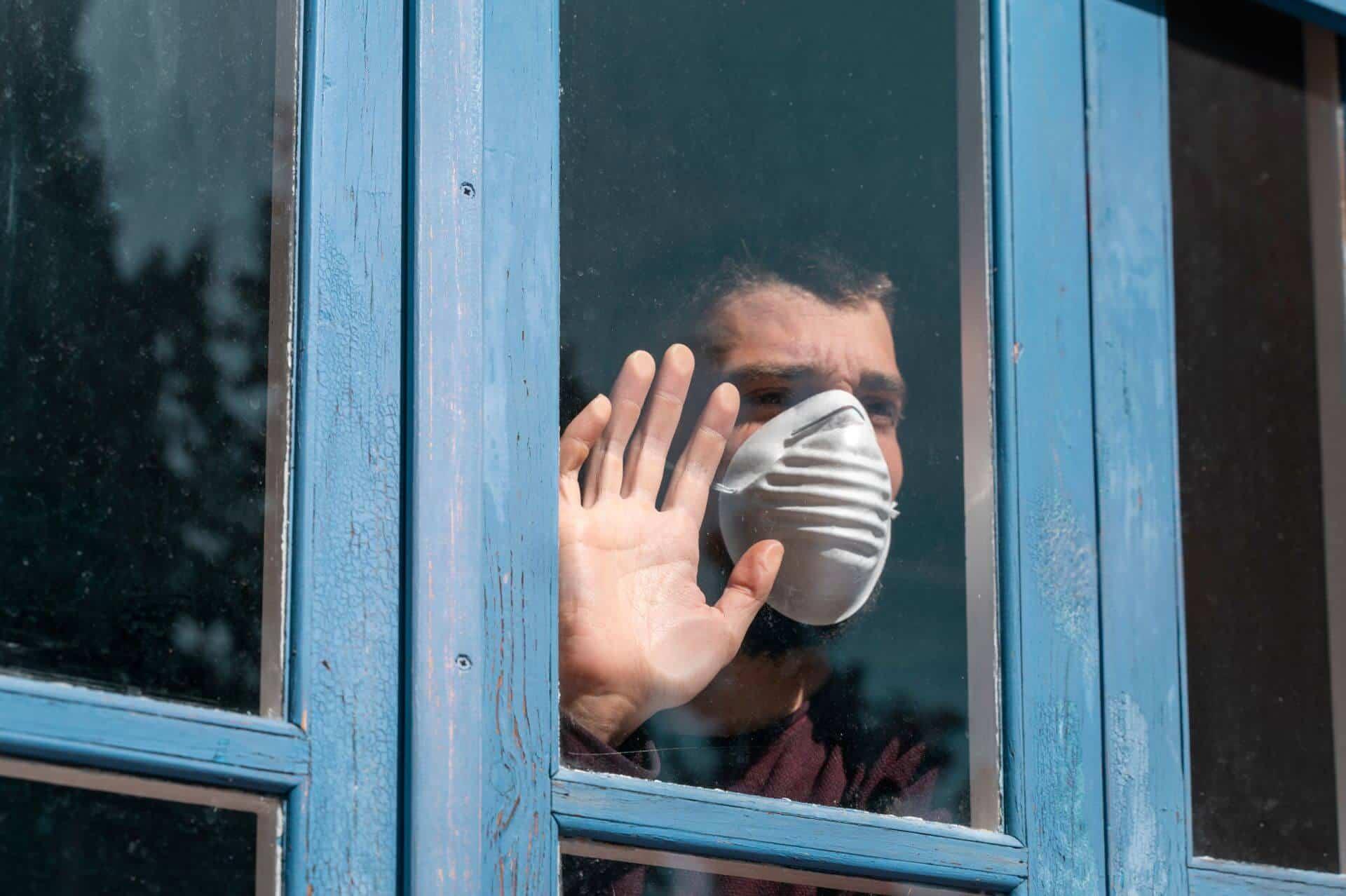 Man sick during Corona Covid19 Pandemic. bconceptgroup.com